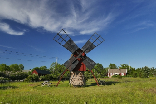 Windmühle auf Öland,Schweden