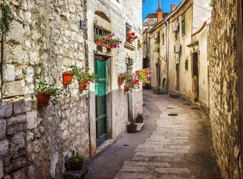 Šibenik in Dalmatien, Kroatien