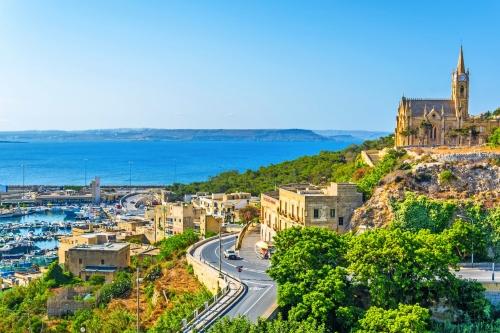 Mgarr auf der maltesischen Insel Gozo