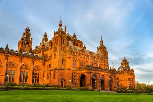 Kelvingrove Museum und Kunstgalerie in Glasgow - Schottland