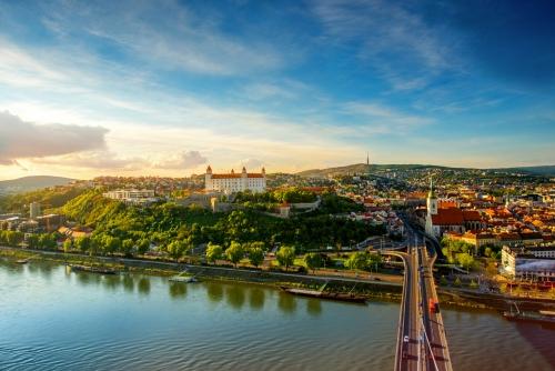 Bratislava in der Slowakei