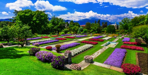 Villa Taranto: Botanischer Garten in Verbania, Italien