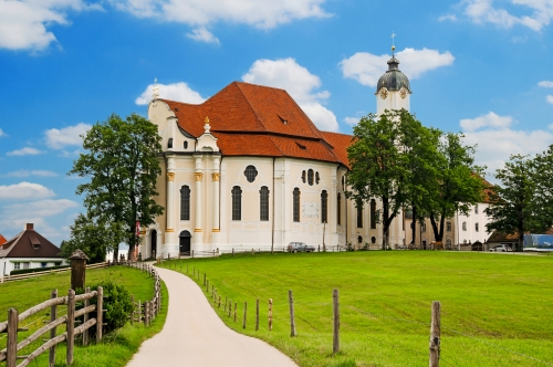 Wallfahrtskirche Wieskirche im Pfaffenwinkel,Bayern