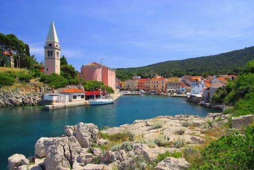 Veli Lošinj auf der kroatischen Insel Lošinj