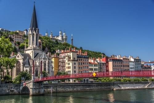 Lyon,Hügel von Fourvière