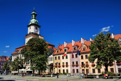 Jelenia Gora,Rathausplatz