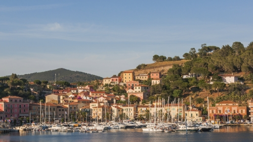 Porto Azzuro,Altstadt,Ferienort,Insel Elba,Hafen,Italien