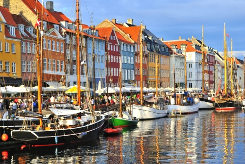 Kopenhagen,Nyhavn Hafen