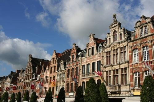 Leuven, Hauptstadt der Provinz Flämisch-Brabant in Belgien