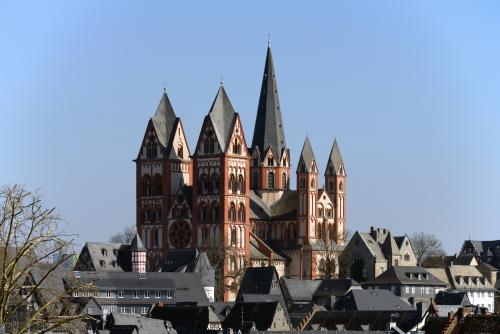 Der Dom zu Limburg von Südwesten