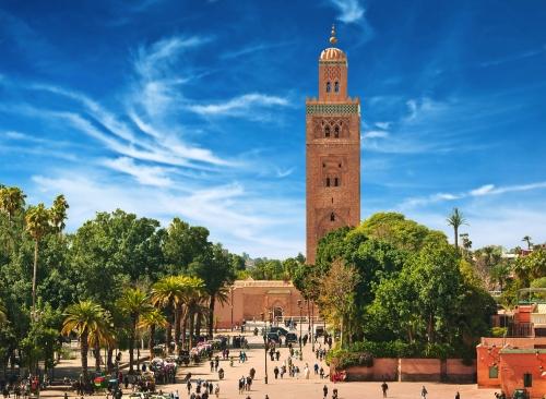 Hauptplatz von Marrakesch, Marokko