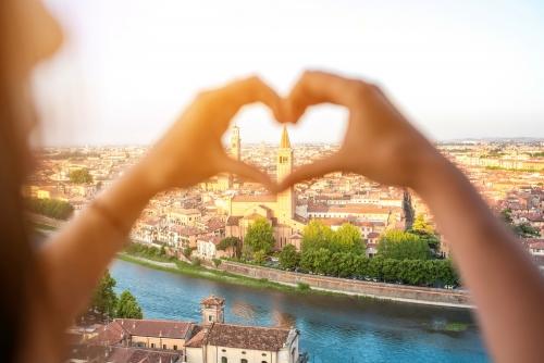 Verona in Norditalien