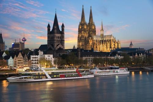 Kreuzfahrtschiffe in Köln