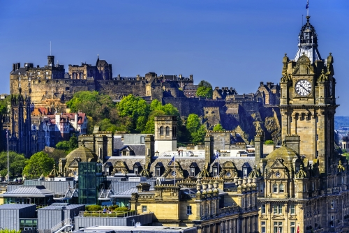 Edinburgh Castle in Edinburgh, Schottland