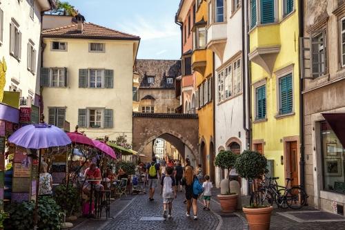 Bozen,Via Dr. Josef Streiter,Trentino-Südtirol,Italien