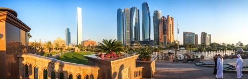Abu Dhabi in den Vereinigten Arabischen Emiraten