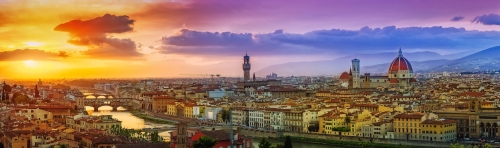 sommerliches Florenz, Italien