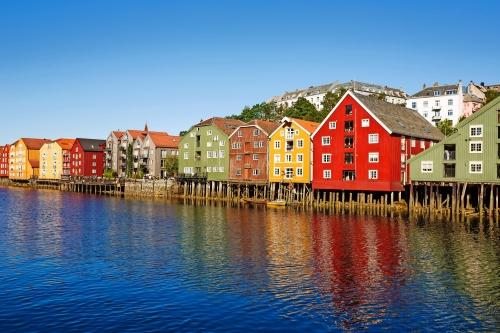 Trondheim in Norwegen