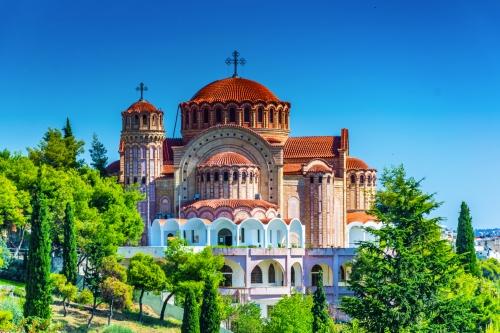 Saint Paul Kathedrale in Saloniki,Griechenland