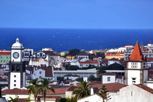 Ponta Delgada auf der Insel São Miguel in den Azoren, Portugal