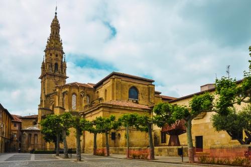 Kathedrale von Santo Domingo de la Calzada,Barockturm,La Rioja,Logroño,Spanien