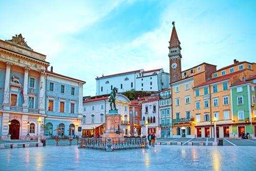 Altstadt von Porec in Kroatien