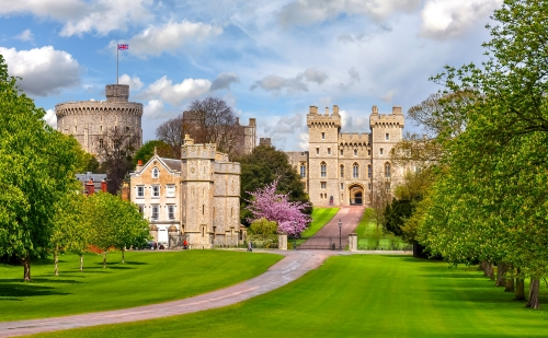 Windsor Castle nahe London, Vereinigtes Königreich