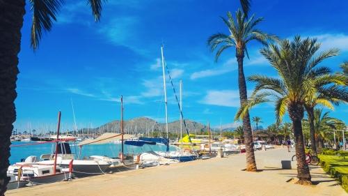 Hafen von Alcúdia auf Mallorca