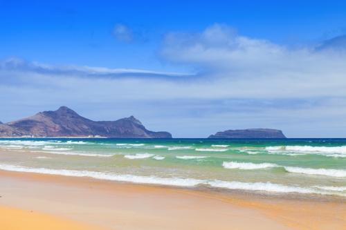 Sandstrand der Insel Porto Santo