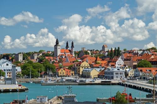 Visby auf Gotland, Schweden