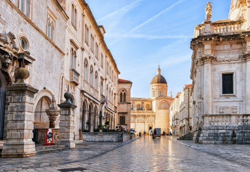 Kathedralevon Dubrovnik in Dalmatien, Kroatien