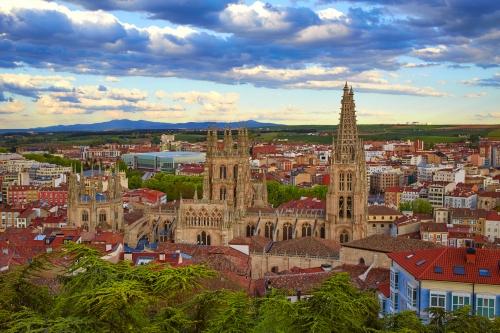 Kathedrale von Burgos in Spanien