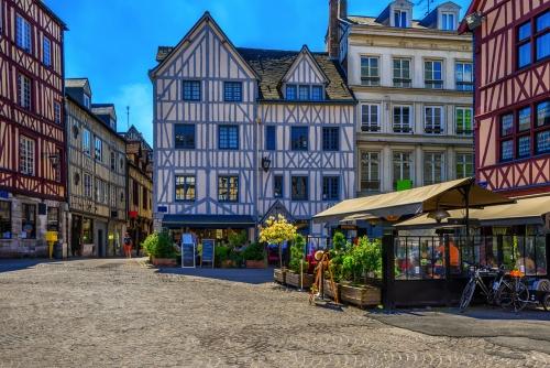 Rouen in der Normandie, Frankreich