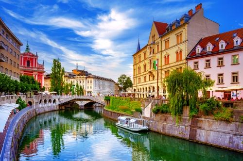 Die Hauptstadt Sloweniens: Ljubljana