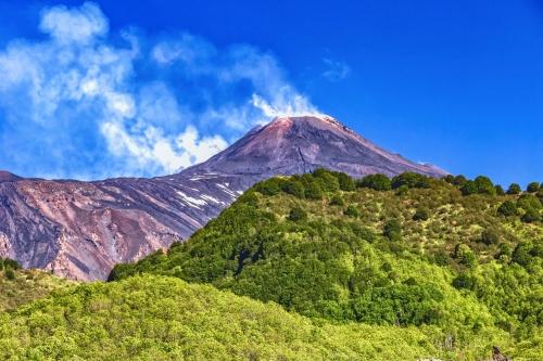 Vulkan Ätna auf Sizilien