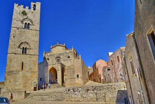 Erice auf Sizilien, Italien