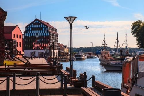 Hafen von Klaipeda in Litauen