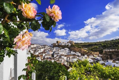 Setenil de las Bodegas in Andalusien, Spanien