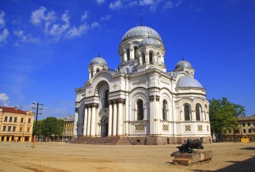Kirche des Erzengels Michael in Kaunas, Litauen
