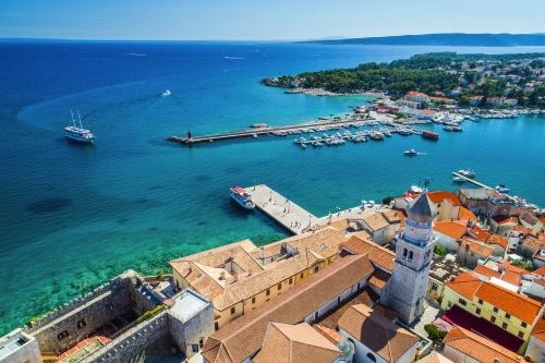 Altstadt von Krk, Kroatien