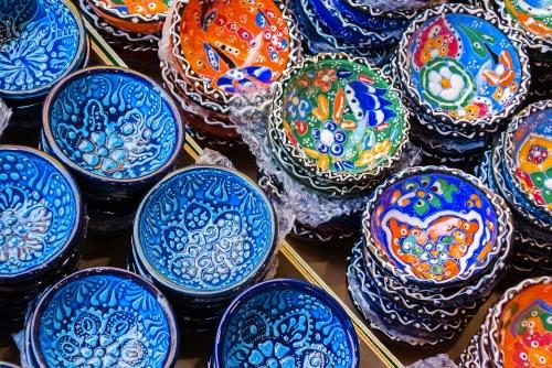 traditionell kretische Keramik-Teller