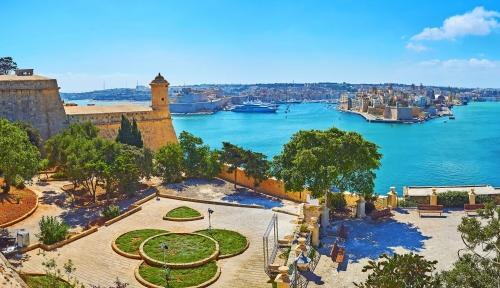 Herbert Ganado Gardens in Floriana auf Malta