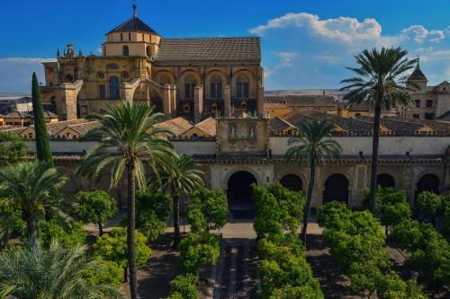 Mezquita in Córdoba, Spanien