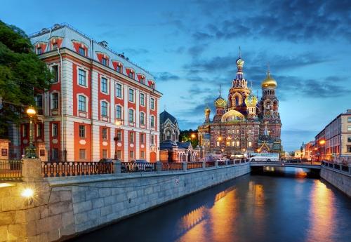 Auferstehungskirche in St. Petersburg, Russland