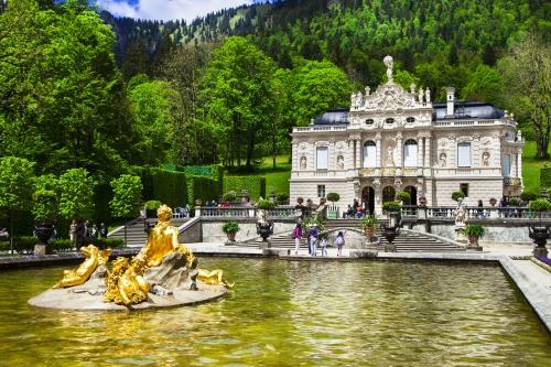 Schloss Linderhof in Ettal, Bayern