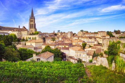Saint-Émilion in der Bordeauxregion, Frankreich