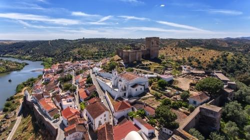Mértola in der Provinz Alentejo Guadiana, Portugal