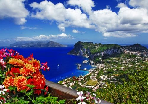 die italienische Insel Capri