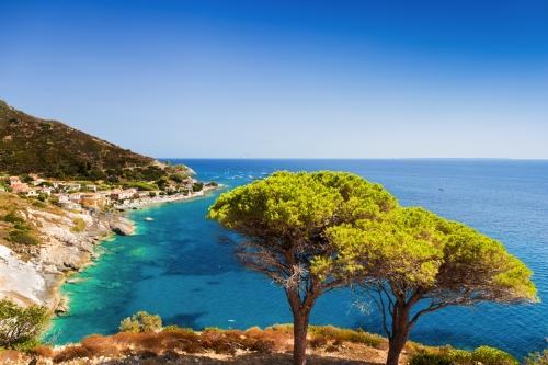 in der Nähe von Pomonte auf der italienischen Insel Elba