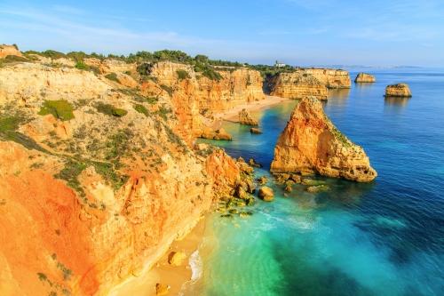 Naturpark Ria Formosa bei Faro an der Algarve, Portugal